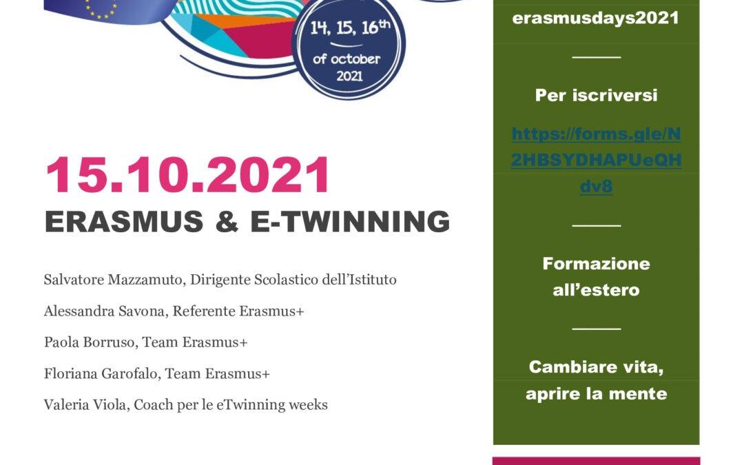 Erasmus & E-twinning Day 15/10/2021